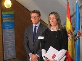 Feijóo propone un pacto PP-PSOE, al que invita a En Marea y BNG, para exigir el AVE a Lugo