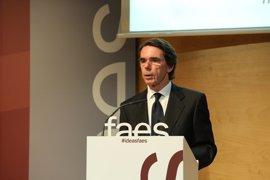 """Aguirre sobre Aznar: """"Le vi ayer y me dijo que no iba a venir"""""""