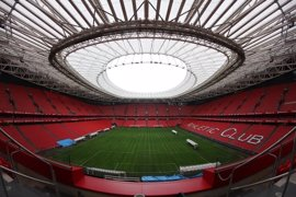 San Mamés Barria comunica al Alavés que no acogerá la final de Copa