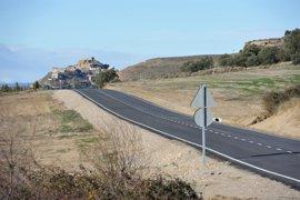 La DPH finaliza las obras en la carretera que une Bolea y Puibolea