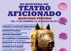 La XI Muestra de Teatro Aficionado de Córdoba comienza este sábado con 14 obras contemporáneas y clásicas