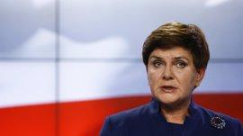 La primera ministra polaca resulta herida en un accidente de coche