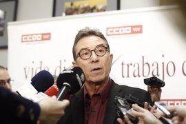 Cedrún presenta su proyecto para seguir al frente de CCOO y promete consenso, más participación y luchar por derechos