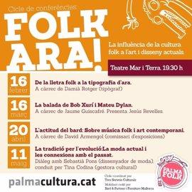 El Teatre Mar i Terra acoge el ciclo de conferencias 'Folk ara!'