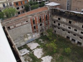 Ayuntamiento estudiará permitir el acceso a las obras del Beti Jai cuando finalice la consolidación de la estructura