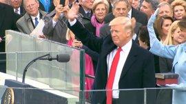 Trump afirma que costo del muro disminuirá tras su intervención