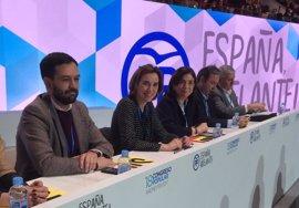 Sanz, Ceniceros, Gamarra y del Río, en la candidatura al Comité Ejecutivo Nacional que encabeza Mariano Rajoy