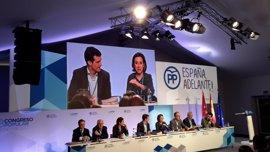 """PP.- Gamarra agradece la confianza de Rajoy y asegura que con 4 riojanos en el Comité """"nuestra región saldrá reforzada"""""""