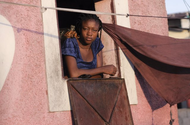 Mujer brasileña negra (2012).