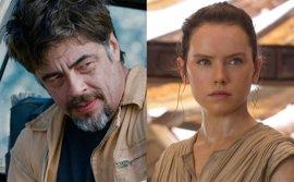 Star Wars 8: ¿Será Benicio del Toro el padre de Rey en The Last Jedi?