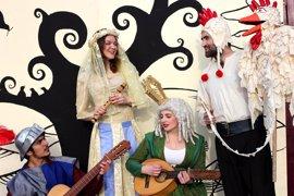 El Teatro Gayarre acoge el próximo sábado la obra infantil en inglés 'Canterbury Tales'