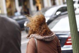 Aemet establece este lunes en la Región la alerta amarilla por vientos y fenómenos costeros
