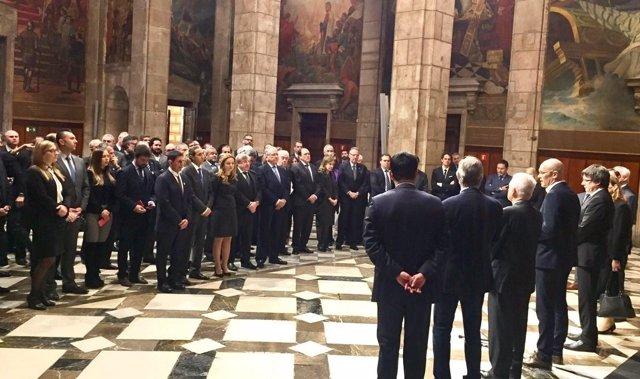 Recepción anual de la Generalitat al cuerpo consular en Barcelona