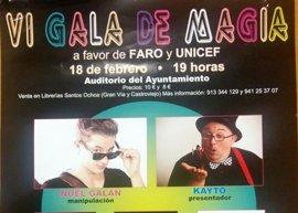 Ilusionistas de primer orden nacional, este sábado en la VI Gala de Magia