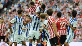 El derbi Real Sociedad-Athletic se disputará en horario matinal de domingo