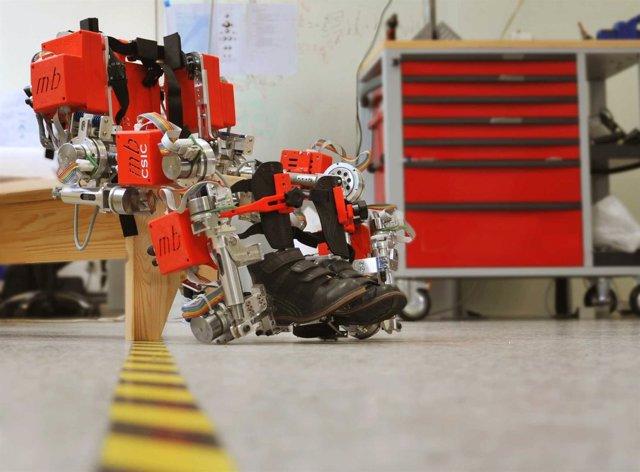 El exoesqueleto del CSIC y Marsi Bionics, entre los mejores proyectos de robótic