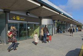 Más viajeros en enero en aeropuertos de Burgos, Salamanca y León, y menos en Valladolid
