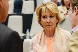 """Aguirre ve """"muy bien"""" que Asúa opte a presidir PP madrileño y pide """"puerta abierta a incertidumbre"""" sobre otras opciones"""