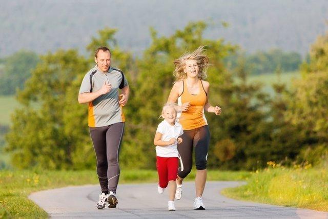 Correr, familia, running