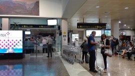 El Aeropuerto inicia el año con un crecimiento de pasajeros del 17,3%