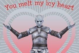 Las geniales postales de San Valentín de Juego de Tronos