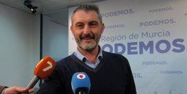 """Podemos pide a Cs iniciar un proceso de revocación para """"sacar"""" a Pedro Antonio Sánchez de la Presidencia"""