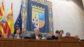 """Las Cortes de Aragón tramitarán los Presupuestos de 2017 con """"celeridad"""" y """"garantías"""""""