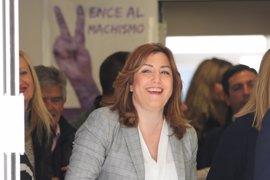 Susana Díaz quiere a los ayuntamientos en la mesa nacional contra la violencia de género