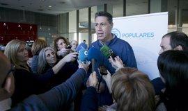 """Albiol cree que Rajoy dio """"garantía y tranquilidad"""" a los no independentistas en su reeleción"""