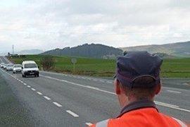 Las policías de Navarra realizarán esta semana controles especiales a camiones y furgonetas