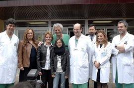 Primer trasplante hepático auxiliar infantil de donante vivo por vía laparoscópica en España