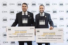 Benito Troya representará a Canarias en el concurso 'Mejor sumiller internacional en cava'