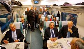 Más de 300 empresarios de Catalunya, Andalucía, Murcia y Valencia exigen el Corredor Mediterráneo