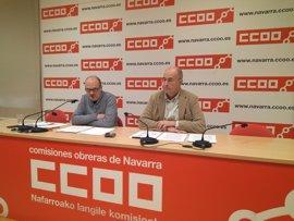 """CCOO pide al Gobierno foral que """"no ceda al chantaje de ELA y LAB"""""""