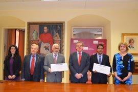 La UCLM dona 17.015 euros a Cruz Roja y a la Delegación Saharaui por la carrera solidaria Campus a Través