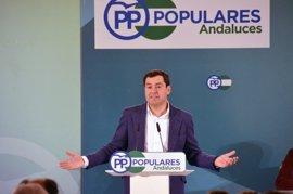 """Moreno aspira a la reelección en el PP-A y promete """"dejarse la piel"""" para alcanzar la Junta"""