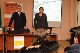 EspañaDuero y Unicaja forman a estudiantes de la ULE en el mundo financiero de una forma práctica