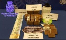 Desarticulado un grupo que traficaba con droga y robaba piezas de automóviles en Valladolid y Palencia