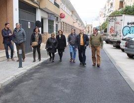 Finalizan las obras de Justino Matute y San Jacinto, que culminan los 475.000 euros invertidos en Triana