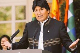 """Morales destaca la """"fortaleza"""" de Bolivia para regresar al mar después de 138 años de la invasión chilena"""