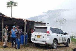 El mecanismo de verificación de Colombia confirma la llegada de los integrantes de las FARC a Caño Indio