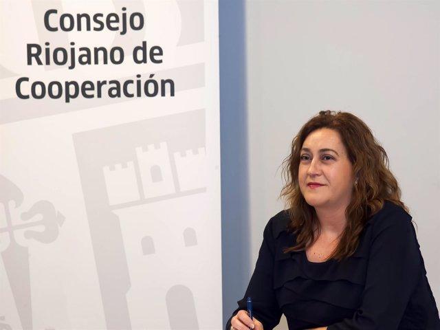 La consejera de Presidencia y Relaciones Institucionales, Begoña Martínez