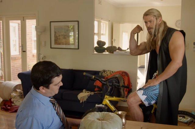 Thor y Darryl, Thor Ragnarok
