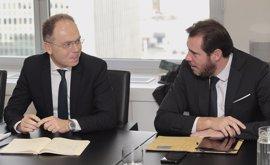 Fomento y Ayuntamiento de Valladolid avanzan en la opción de integración sin soterramiento