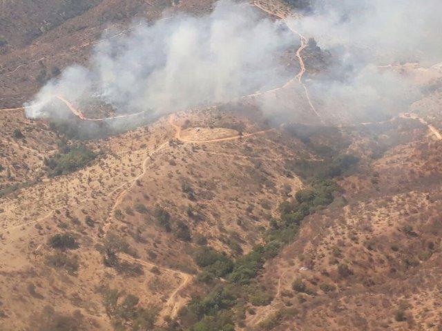 Incendio Chile