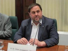 Junqueras comparece este miércoles en el Parlament por el caso Vidal