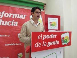 Vecinos del Guadiato acompañan este miércoles a Garzón (IU) para preguntar por los 23 millones del Miner
