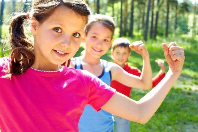 Cae el número de niños que practica ejercicio