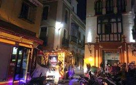 Desalojado un hotel en el centro de Sevilla tras una fuga en la caldera