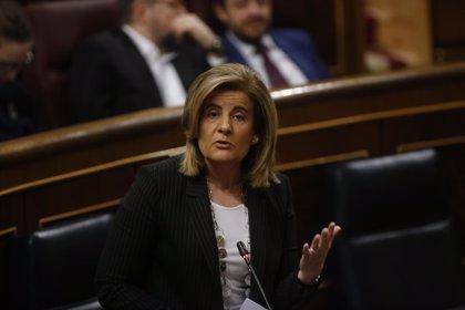 Báñez defiende que los pensionistas han ganado 1.905 millones en poder adquisitivo desde 2013